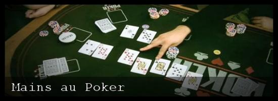 Mains au poker